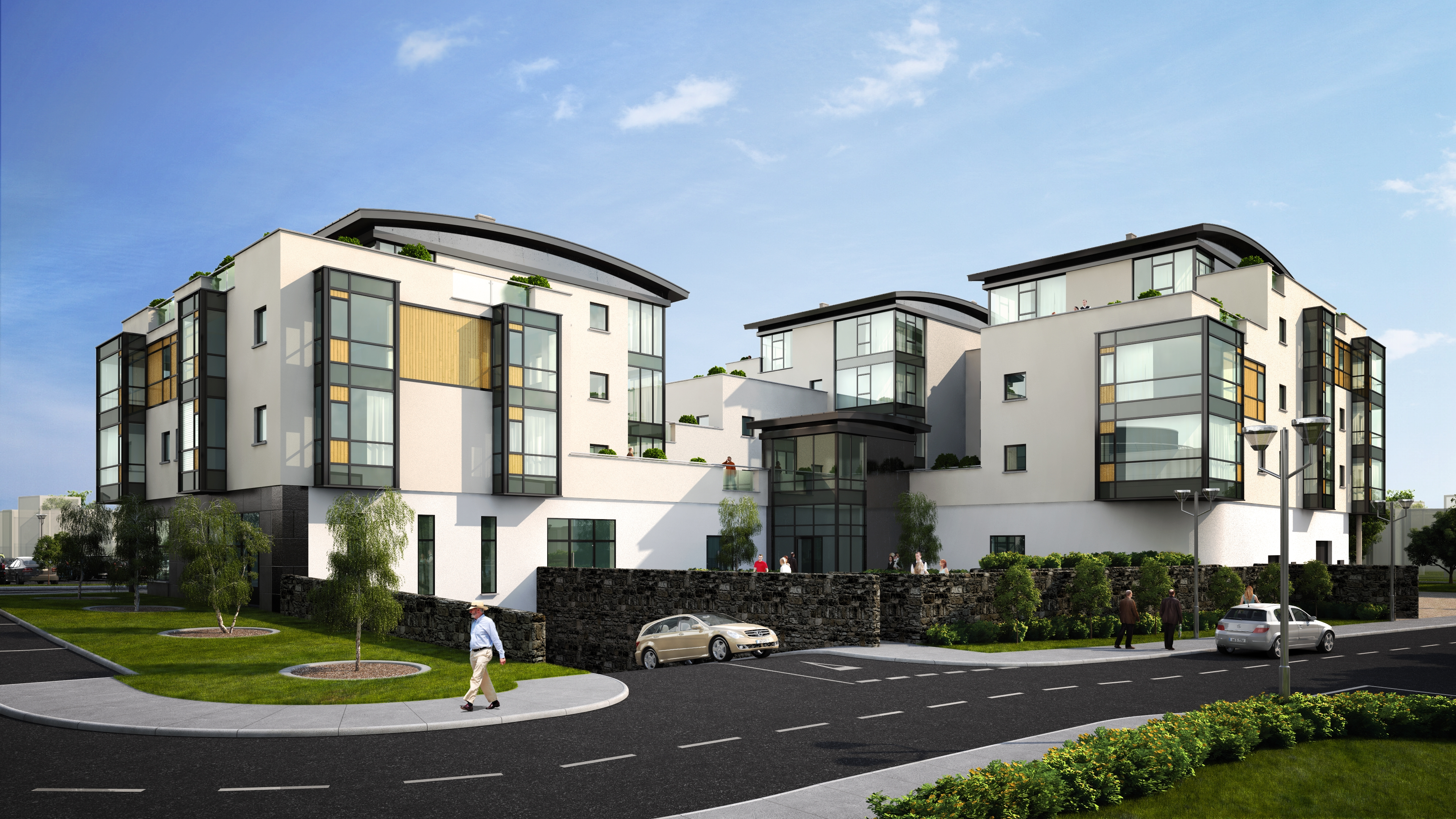 Commercial engineering wexford wfc retail units project for Retail apartment plans